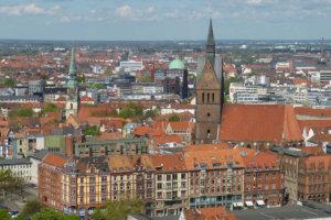 Hannover: E Scooter kaufen und leihen in der Messestadt